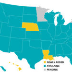 Updated NGA Availability Map